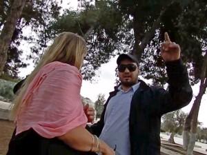 Hebrew Voices, Ambushed on the Temple Mount, israel, news, Temple Mount, Islamic, Jordanian Police, Jerusalem, israel, news, Jerusalem Jane