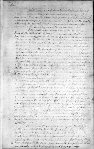 Letter from Jonas Phillips a Jew, dated Sept. 7. 1787 to the President & Members of the Convention