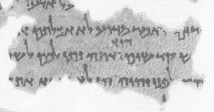 MasLev-b Mas1b (Proto-Masoretic Leviticus 10:17)