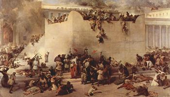 The destruction of the Temple of Jerusalem.