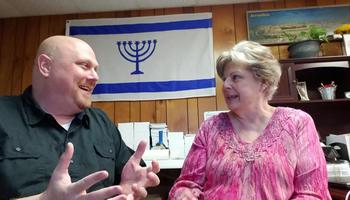 Nehemia Gordon and Dev Daniel talking about the name of God.